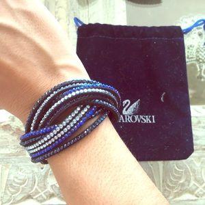 Swarovski Slake 2-in-1 Crystal Studded Bracelet